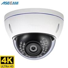8MP 4K IP Camera POE Outdoor H.265 Onvif Metal Indoor Dome CCTV Night Vision 4MP Video Surveillance