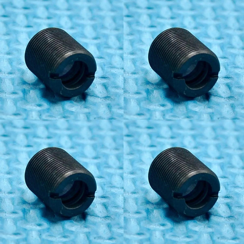 4шт с покрытием стекло коллимирующие линзы для 405 нм 450 нм 480 нм синий лазер диод точка фокус линза полная резьба