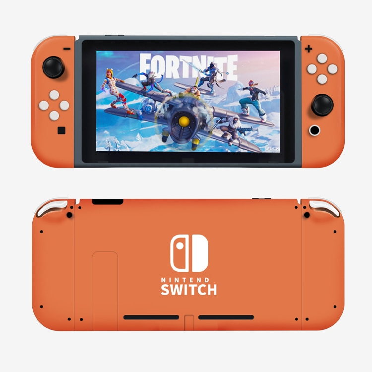 Joy Con Nintend Switch NS Controller Housing Shell Case for Nintendos Switch DIY Orange LR Housing Cover Replacement Accessories