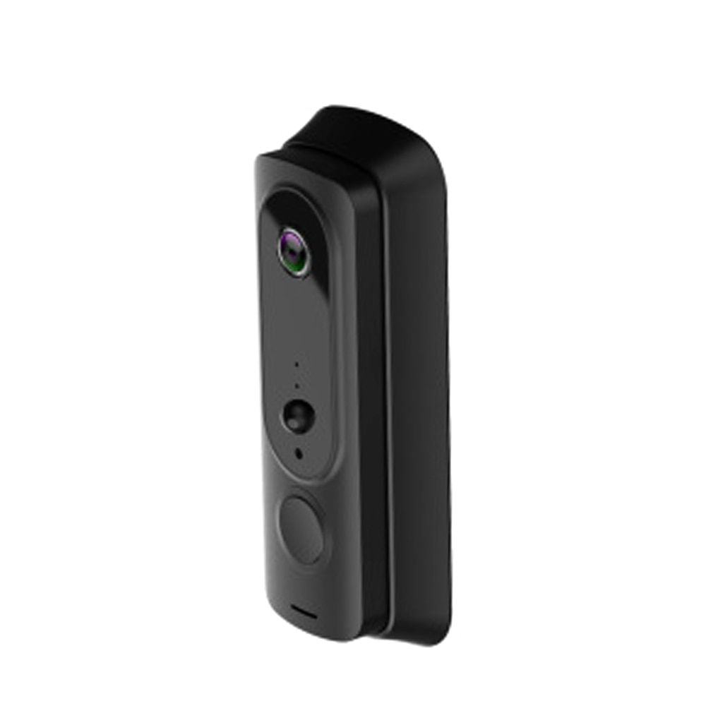 Anjielosmart Tuya Wireless Video Doorbell Wi-Fi Weatherproof Doorbell Camera with Chime Motion Activated Alerts and Night Vision enlarge
