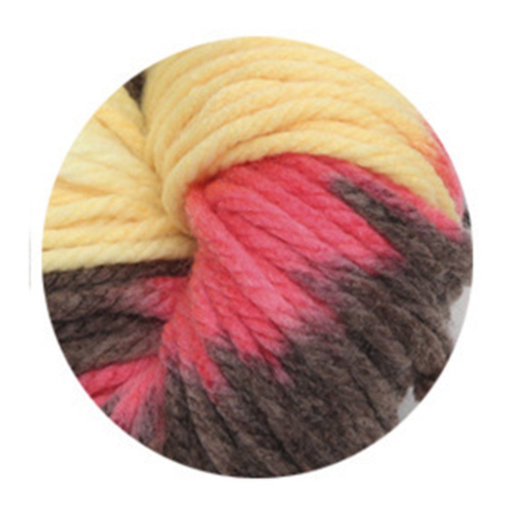 4 hebras de bufanda de lana gruesa línea de lana islandesa de gran espesor sombrero línea de lana profesional de moda