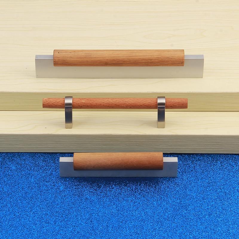 NICEDUNE деревянные дверные ручки и обуви шкаф шкафы Кухня двери окна для ящика комода Спальня корпусной мебели компонент