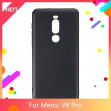 V8 Pro Case Matte Soft Silicone TPU Back Cover For Meizu V8 Pro Phone Case Slim shockproof