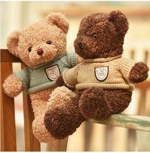 40/50/70CM Cartoon Teddy Bear plush toy Soft stuffed animals accompany toy Children Gift Christmas birthday Gifts