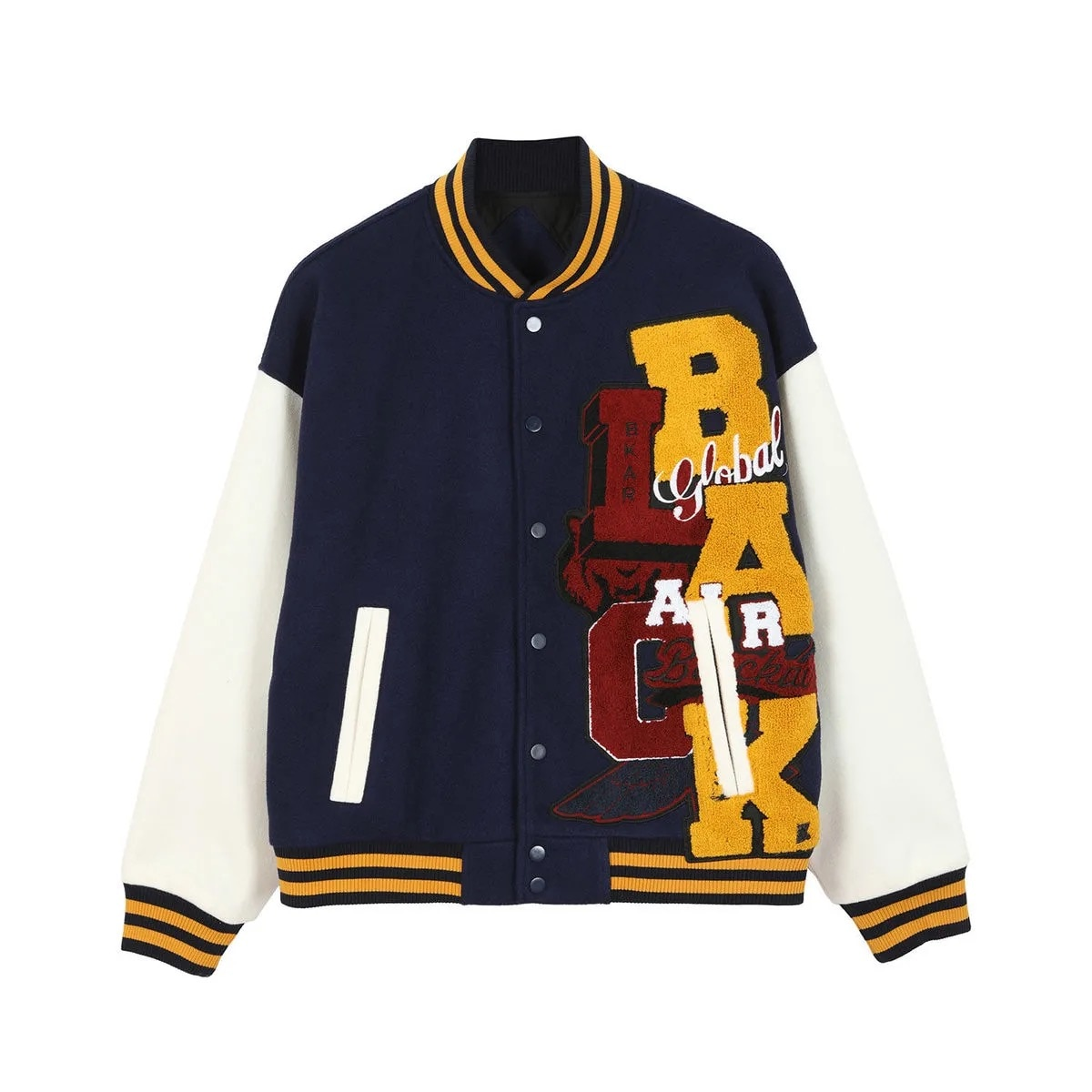2021 Hip-hop,Letterman jacket,Patch block jacket, Men's jacket, short jacket, Men's and Momen's baseball jacket men jacket jacket rodier jacket
