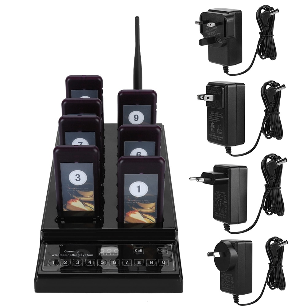 20 Channels Pager Wireless Restaurant Calling Pager System For Restaurant Pager Restaurant