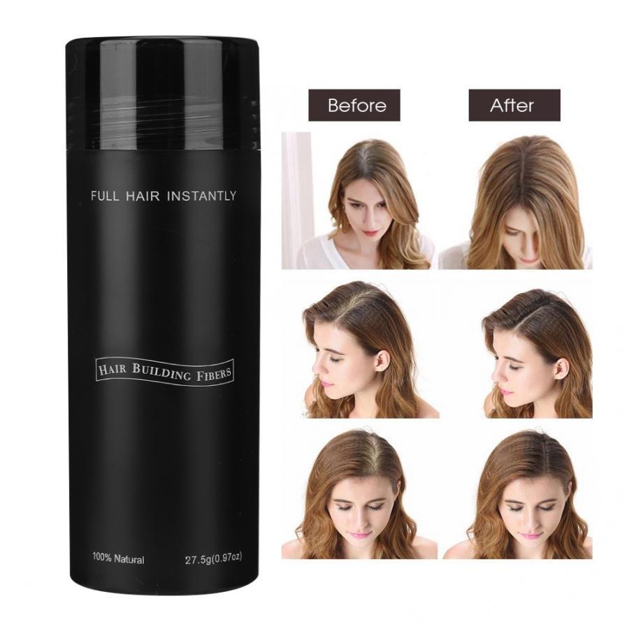 Beauty Salon Hair Fiber Keratin 27.5g Hair Building Fibers Powder Loss Concealer Hair Care Growth Products