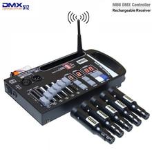 새로운 DMX 무선 송신기 수신기 LED 컨트롤러 레이저 광 컨트롤러 이동 단계에 매우 편리함