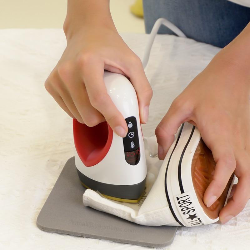 ماكينة تحويل طباعة حرارية صغيرة محمولة ماكينة تحويل طباعة رقمية لنقل القمصان والأحذية والنقش الكي