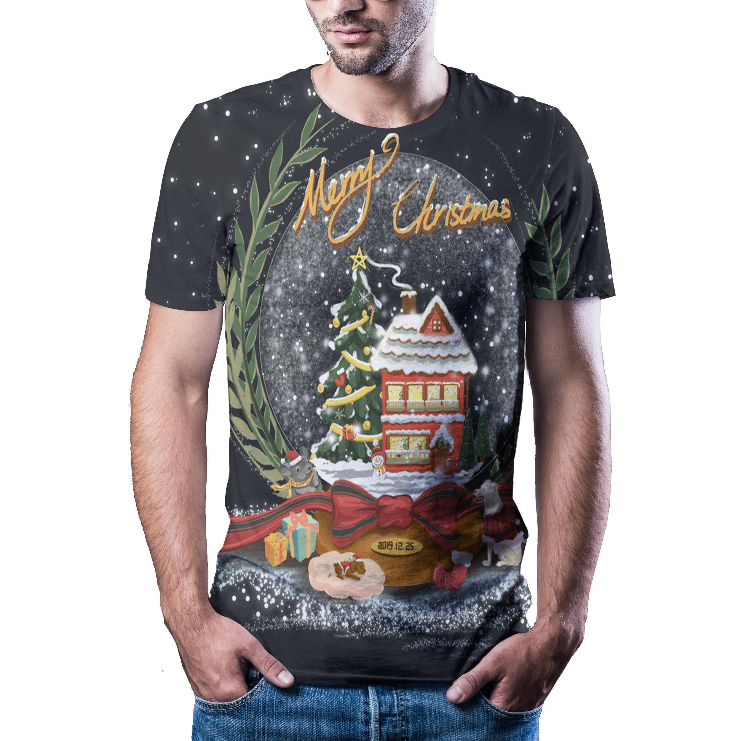 Camiseta con estampado de animación digital 3D, camisa deportiva de moda, Nueva