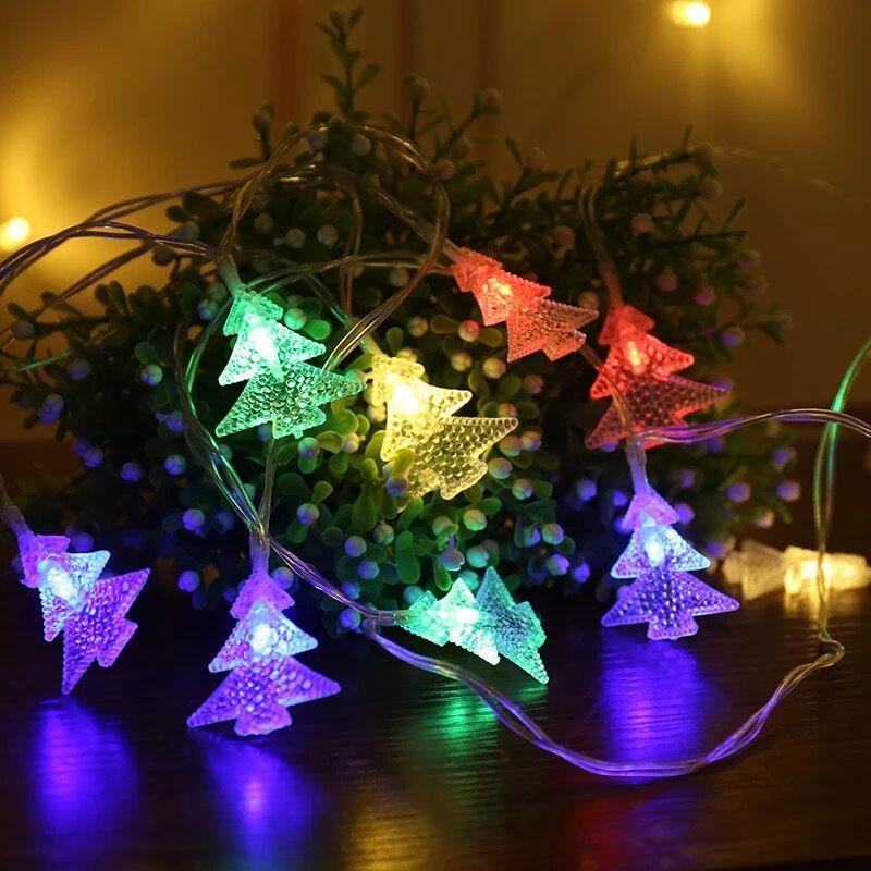 Guirnalda de Luces led para exterior decoracin de vacaciones... Luces de hadas...