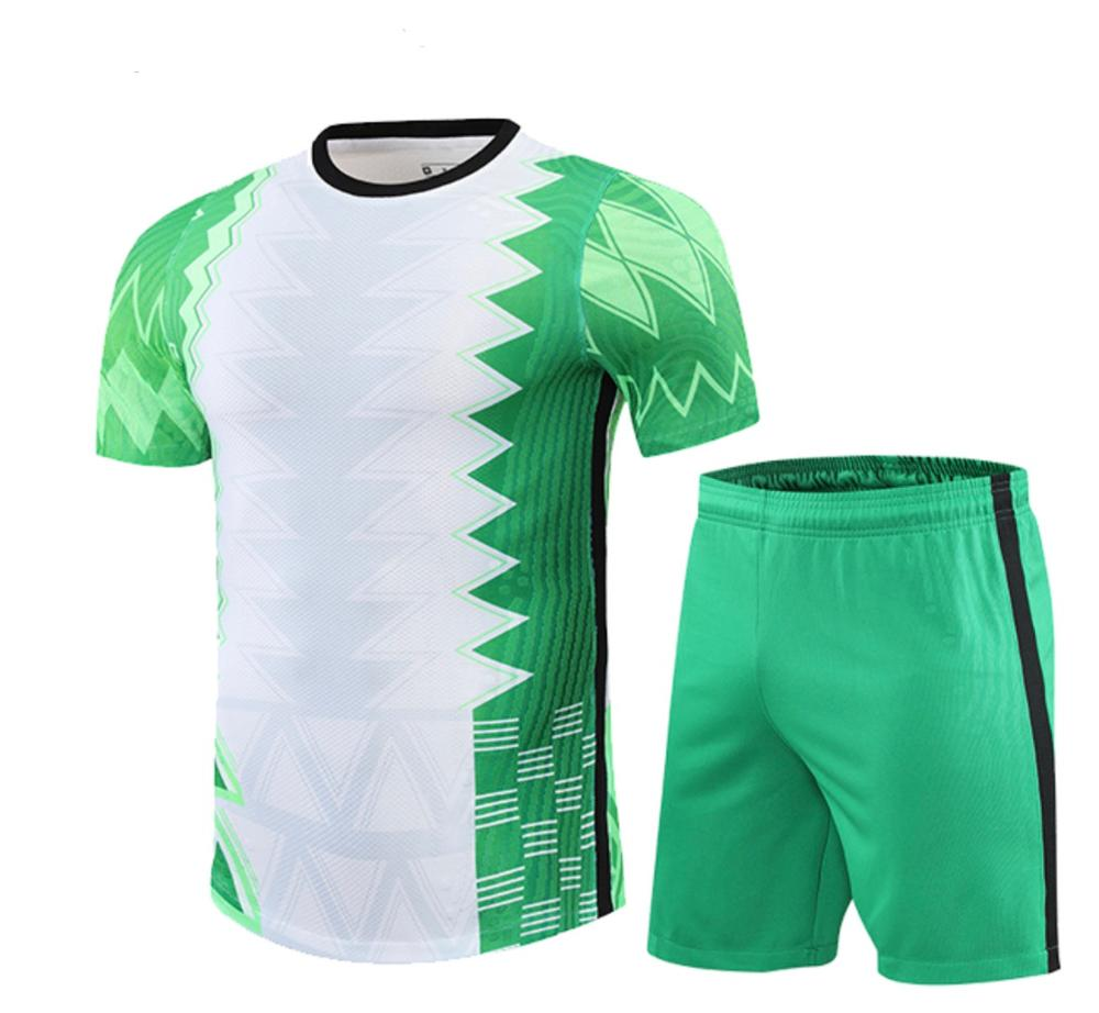 2021 Nigeria players Football Jersey personalized name number logo sponsor advertising Special Nigeria soccer jerseys team game