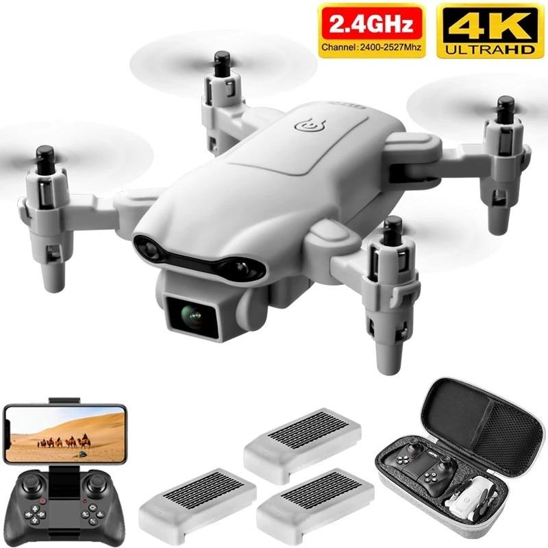 4D-V9 New Mini Drone 4K 1080P HD Camera WiFi Fpv Air Pressure Altitude Hold Gray Foldable Quadcopter