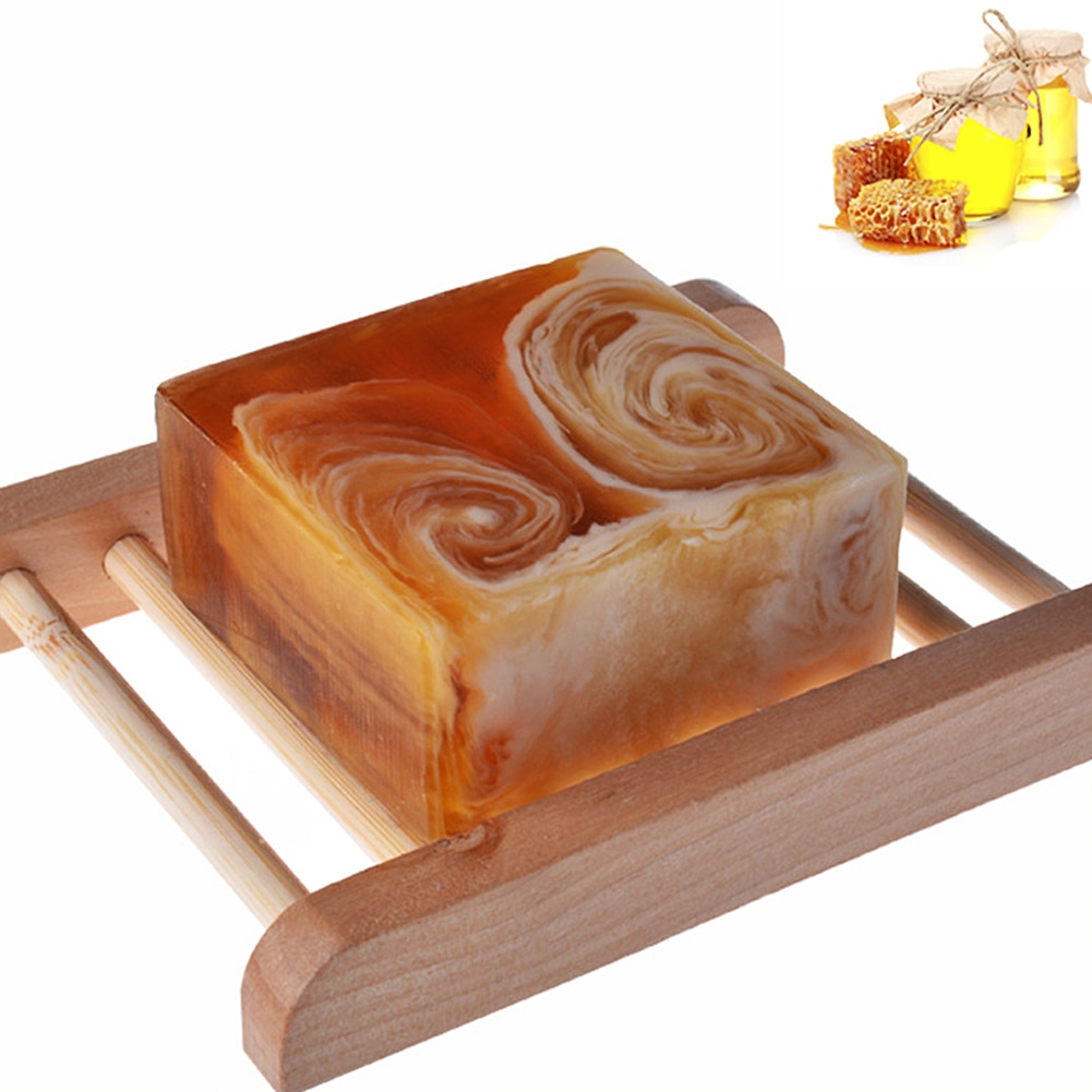 Natural Handmade Propolis Honey Milk Soap Face Care Replenishing  Skin  Bleaching Deep Cleansing Soap