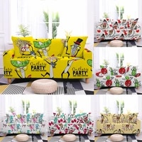 cartoon sofa cover for living room furniture protective elastic couch cover stretch all inclusive slipcover 1234 seater