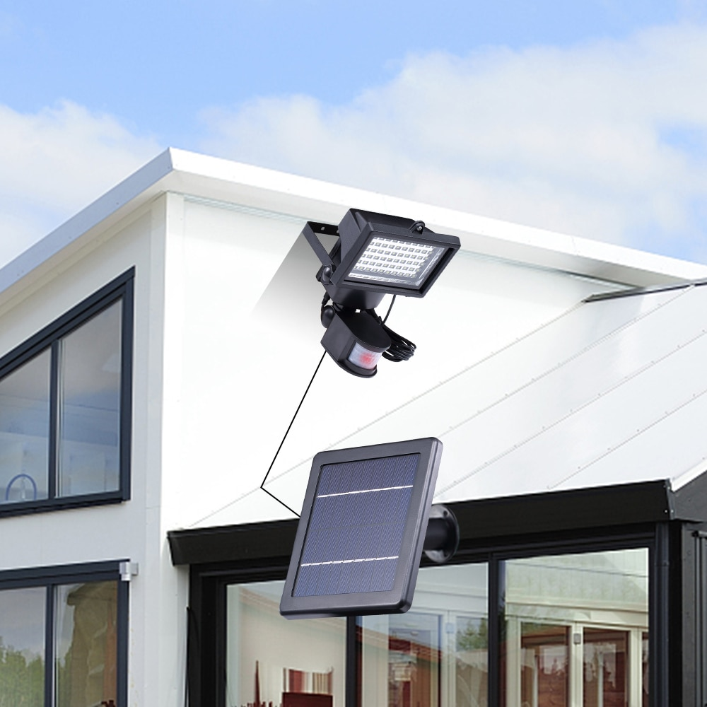 led lights  LED Solar Lamp Solar Power Energy Motion Sensor Led Outdoor Light Garden Solar Security Wall Light Garage Waterfroof enlarge