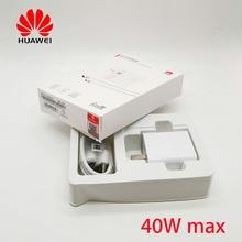 Оригинальное зарядное устройство huawei supercharge, супер зарядное устройство 40 Вт для huawei p30 mate 20 pro RS nova 5 Honor 20 magic 2 10V 4A