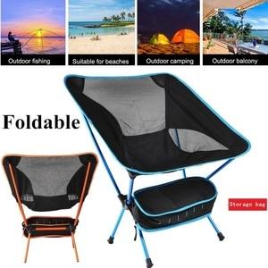 Outdoor Beach Chair Detachable Camping Chair Aluminium Alloy Breathable Folding Fishing Chair Outdoor Portable Garden Chairs