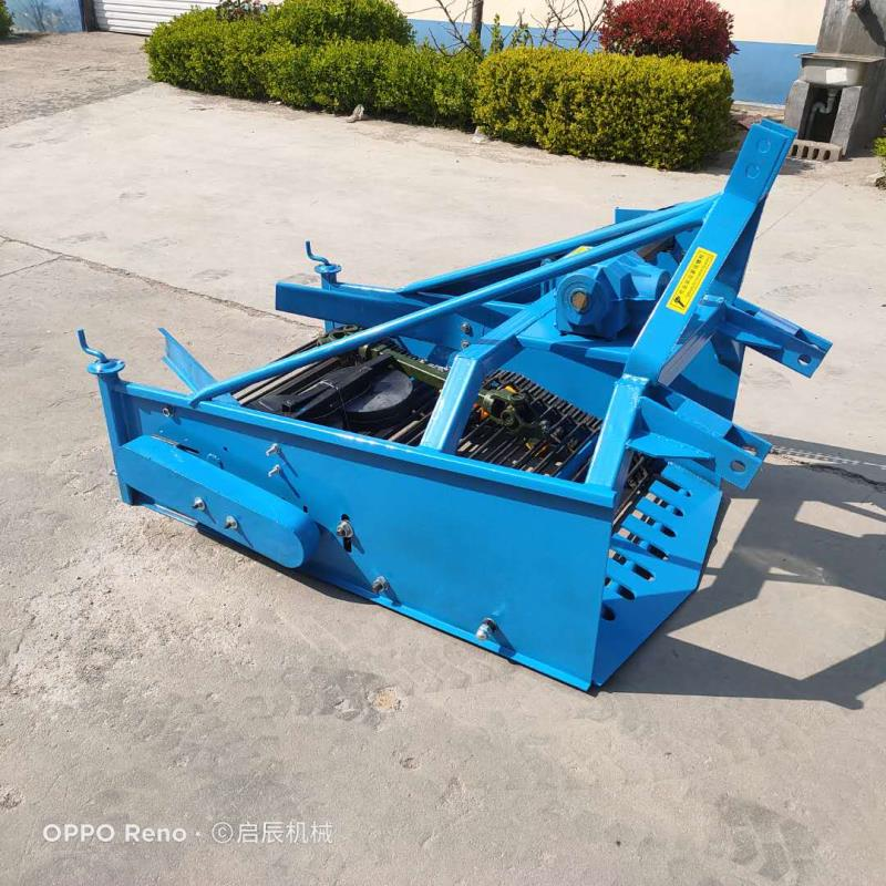 1.3m wide agricultural four wheel tractor with potato harvester potato harvester taro sweet potato harvester