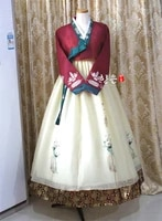 korea imported fabric new improved hanbok stage hanbok fine hanbok