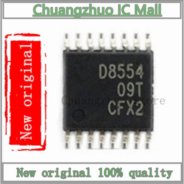 1 Pçs/lote DAC8554IPWR DAC8554IPW DAC8554 D8554 TSSOP-16 SMD Chip IC Novo e original