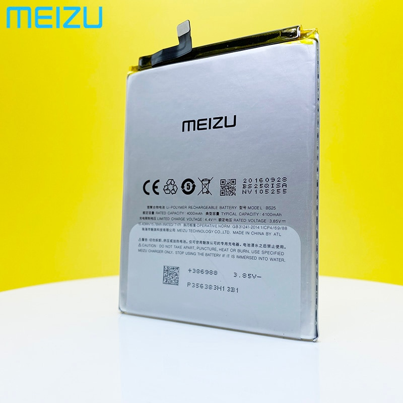 Meizu 100% Original BS25 4000mAh New Battery For Meizu M3 Max S685Q S685H PHone high quality+Tracking Number