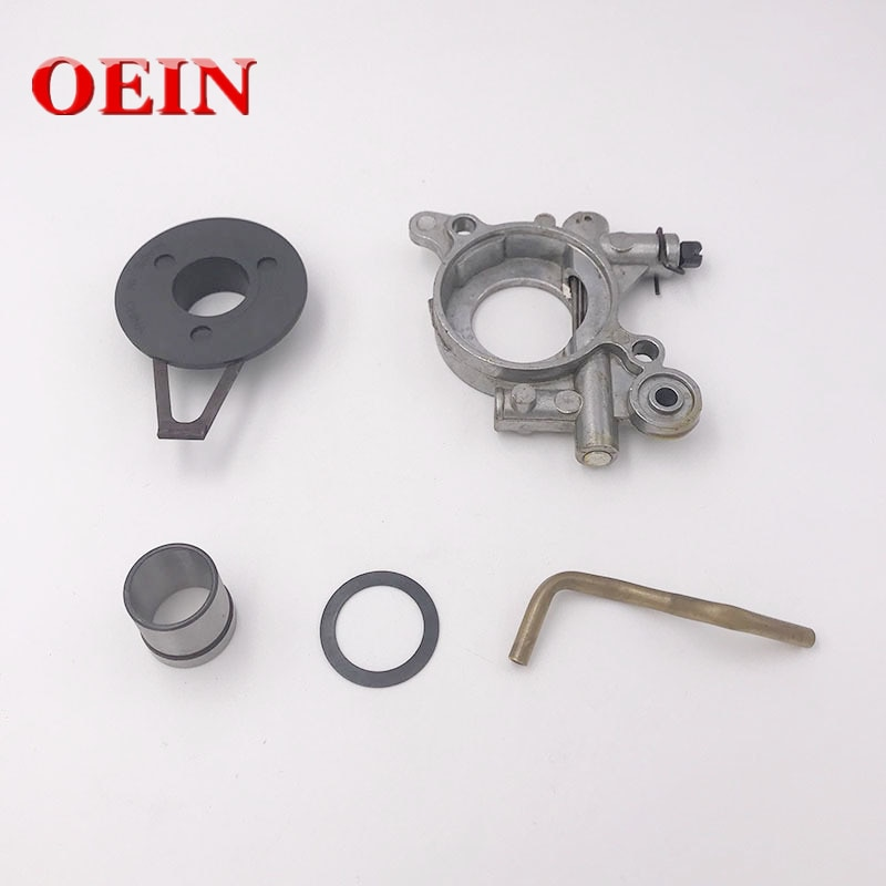 Oil Pump Assembly With Pipe For Husqvarna 362 365 371 372 Jonsered 2063 2165 2071 2171 Oil Pump Worm Chainsaw Parts