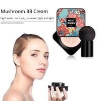 bb air cushion foundation mushroom head natural cc cream concealer whitening makeup cosmetic waterproof brighten face base tone