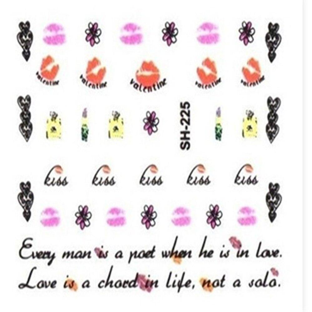 Pregnant Women Nail Stickers Cartoon Self-Adhesive Nail Beauty Decal DIY Manicure Tools Nail Art