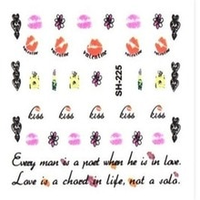 Pregnant Women Nail Stickers Cartoon Self-Adhesive Nail Beauty Decal DIY Manicure Tools Nail Art