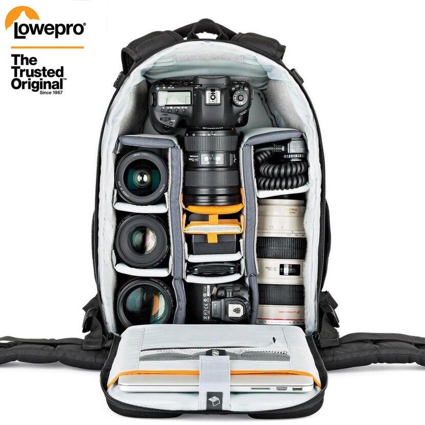 Оптовая продажа Gopro Lowepro Flipside 400 AW II цифровая зеркальная камера Фото Сумка Рюкзаки + всепогодный чехол Бесплатная доставка