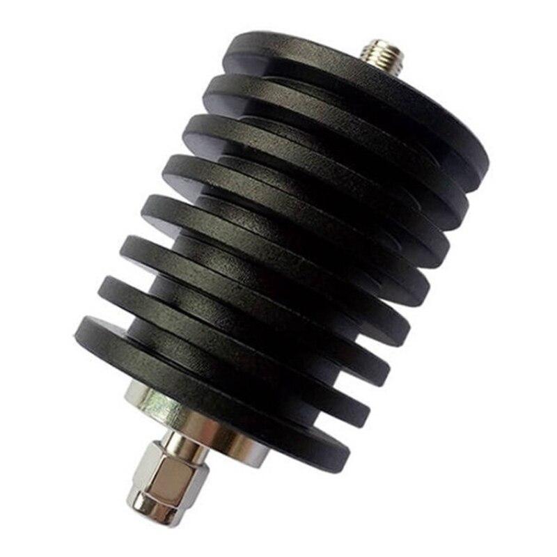 التجزئة 30 واط N نوع المخفف N ذكر التوصيل إلى أنثى جاك RF محوري موصل الطاقة 50Ohm ، 30Db DC-3Ghz