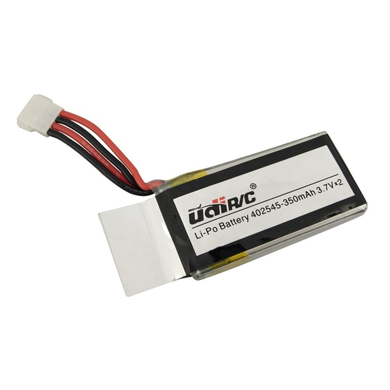 2Pcs/set 7.4V 350mAh Lipo Battery 402545 2S for UDI U819 U819A U945A U919A RC Helicopter 3D Flip Drone RC Quadcopter Spare Parts enlarge