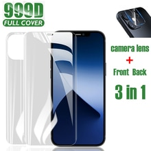 Hydrogel Film Phone Screen Protector For iPhone 11 Pro Max X XR XS Max 6 6s 7 8 Plus 12 Mini SE 2020