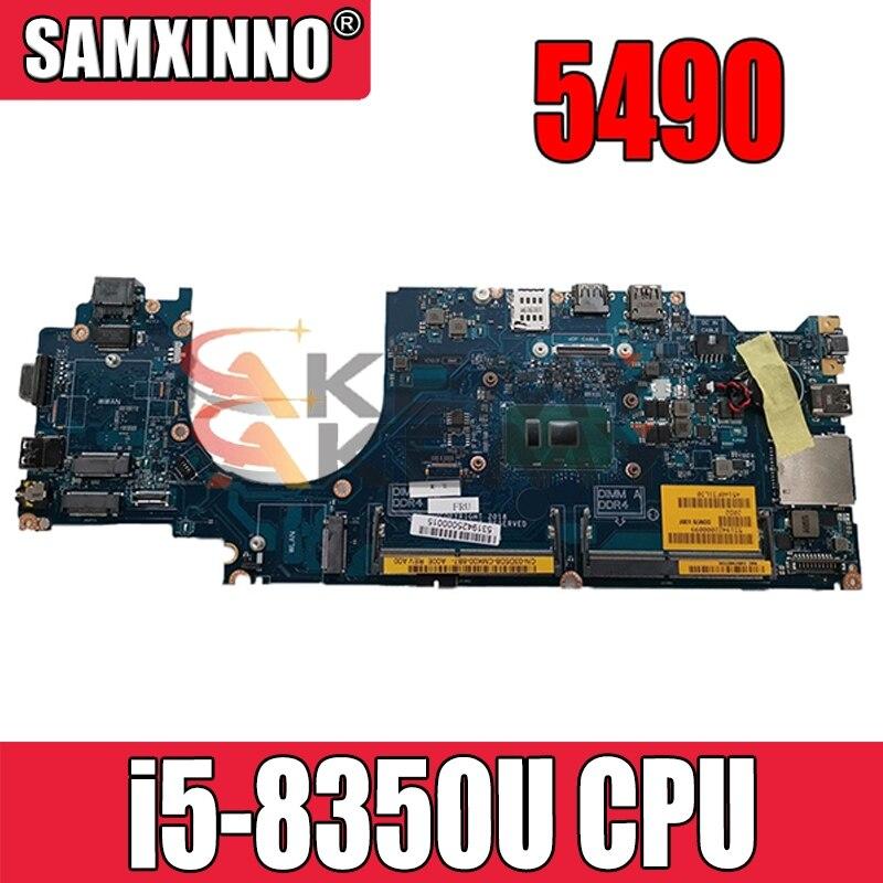 لأجهزة الكمبيوتر المحمول Dell Latitude 5490 LA-F401P اللوحة الأم نظام اللوحة إنتل i5-8350U P7RFR 0P7RFR CN-0P7RFR 100% تم اختبارها بالكامل