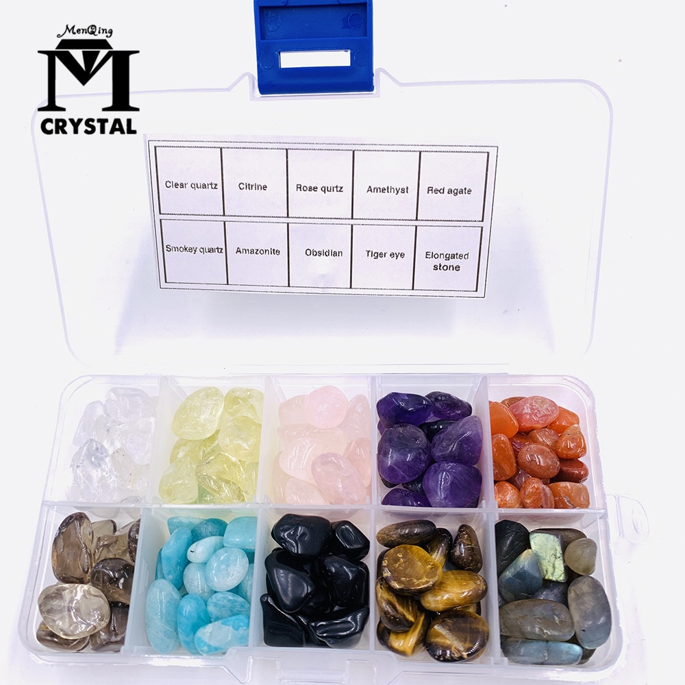Natural crystal Quartz Stone and Gemstone Polished Rock Mineral specimen Healing Reiki home decor gift