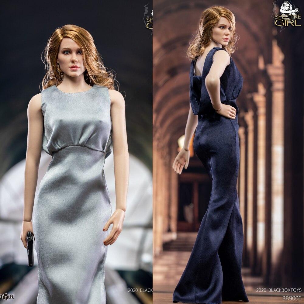 В наличии 1/6th BBT9006 женский убийца 007 призрак женская голова лепить & платье одежда сильнее девушка
