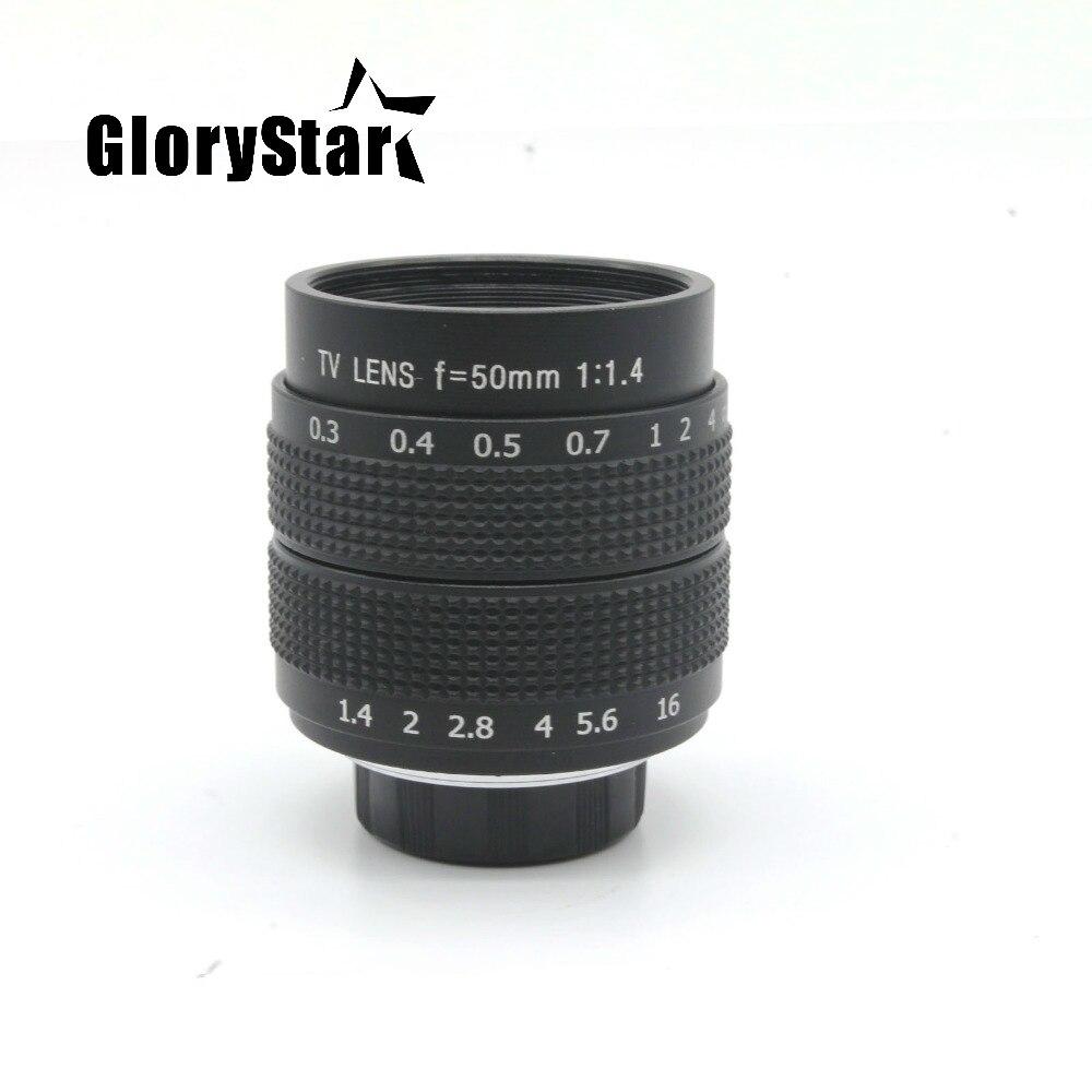 25mm F1.4 CCTV Cámara de la lente + 35mm f1.7 lente de cámara + 50mmf1 4 de la Lente de la cámara para Fuji Fujifilm X-E2 X-E1 X-Pro1 X-M1 X