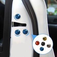 12pcs Car Door Lock Screw Protector Cover For Volkswagen VW GOLF 6 7 Scirocco CC MK6 Polo Tiguan PASSAT JETTA GTI car styling
