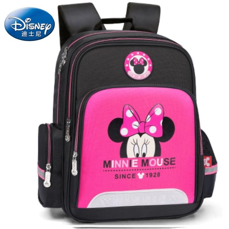 original minnie mouse saco dos desenhos animados mochila criancas saco de escola