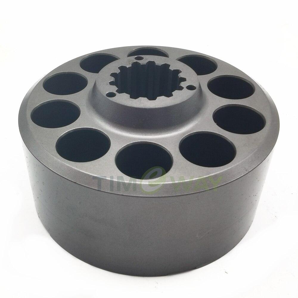اسطوانة كتلة PVD-00B-16P مضخة أجزاء ل إصلاح NACHI الهيدروليكية مكبس مضخة PVD-00B-15P PVD-00B-14P PVD-00B-9P
