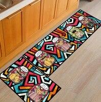cartoon creative machine washable strip floor mat door mat kitchen bathroom door foot mat bedroom bedside carpet for living room