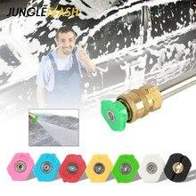 JUNGLEFLASH фунтов на квадратный дюйм, бар, пенная насадка для мойки высокого давления, инструмент для чистки автомобиля, аксессуары, насадка