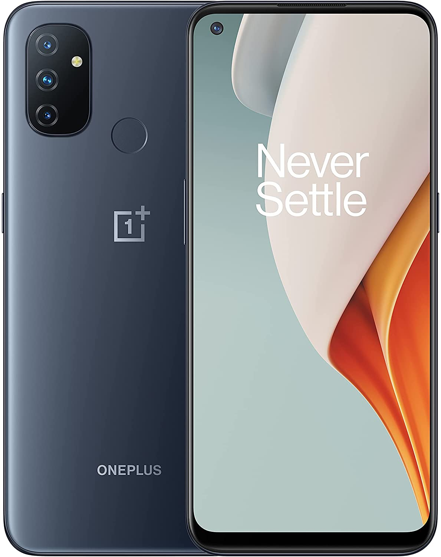 هاتف ذكي مفتوح من OnePlus Nord N100 منتصف الليل فروست ، 4 جيجابايت + 64 جيجابايت ، إصدار أمريكي ، موديل BE2011