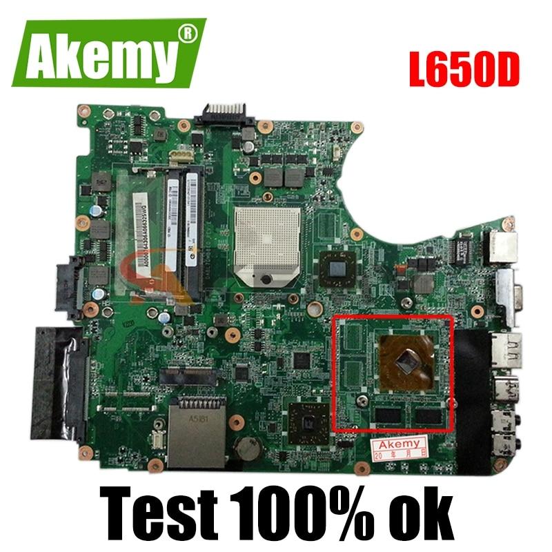 لوحة أم للكمبيوتر المحمول توشيبا L650D L655D HD4500 من AKEMY طراز dpl 7dmb8e0 لوحة أم للكمبيوتر المحمول DDR3 216-0774007
