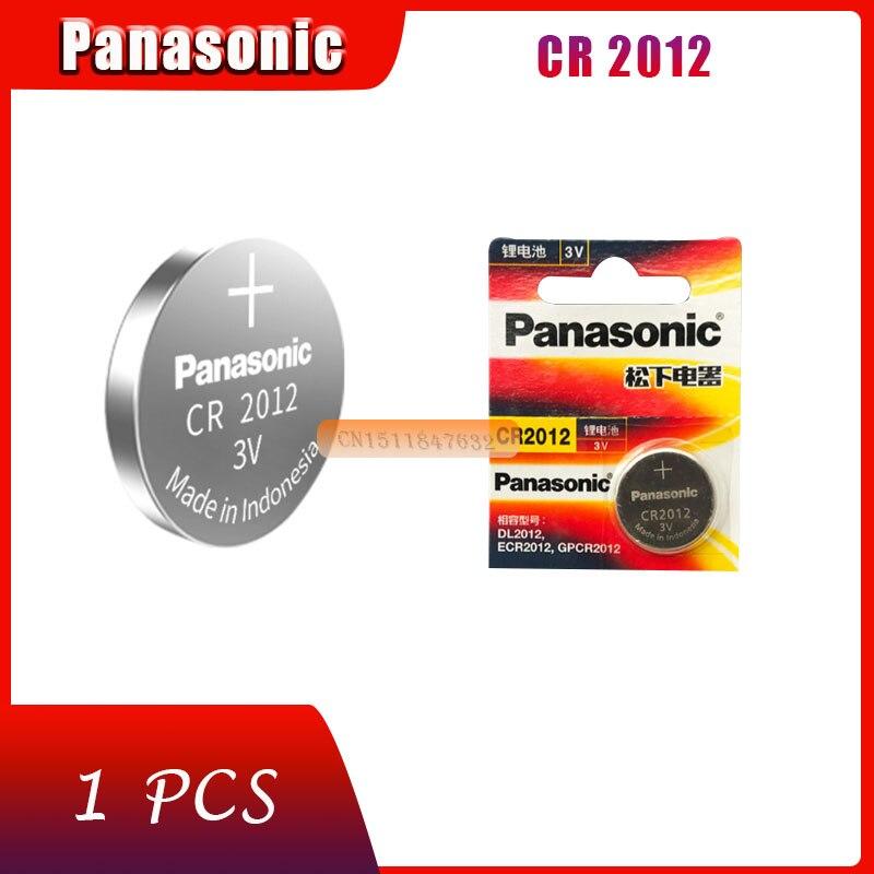 1 X batterie originale flambant neuf pour PANASONIC cr2012 3v pile bouton piles pour montre ordinateur cr 2012