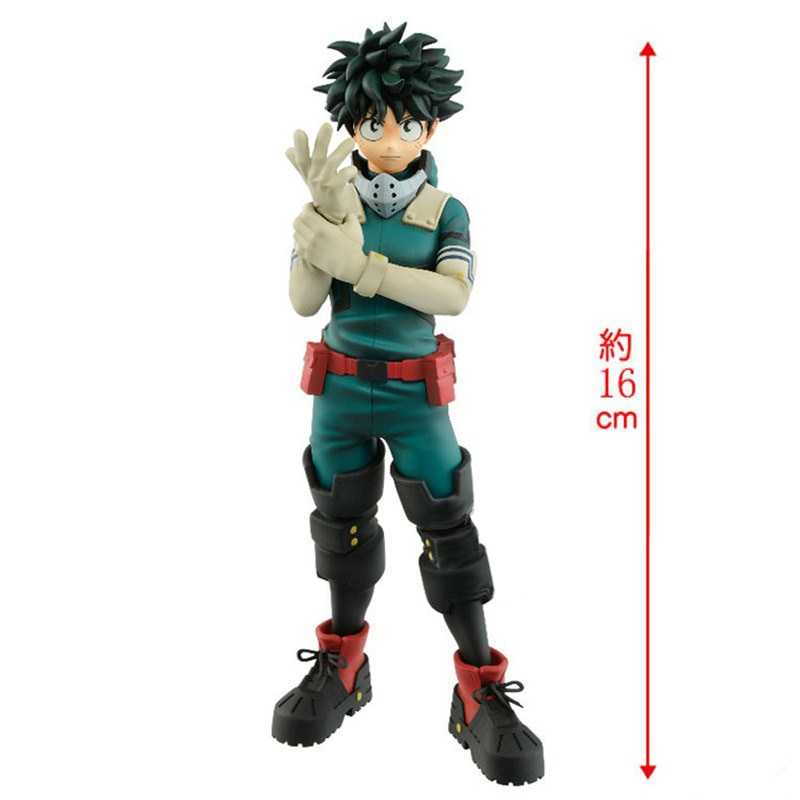 ¡16cm mi héroe Academia Boku No Hero Izuku Midoriya Deku pie Ver! Figura de acción de PVC 5th Todoroki Shoto, modelo coleccionable