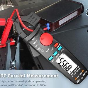 True RMS Clamp Meter 1mA Plier Ammeter Professional Car Repair Digital Multimeter DC AC Current Volt Temp Capacitor Tester