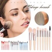 8pc makeup brush kit eyebrow eyeshadow blush powder lip brush makeup tool perfect gift for beginners makeup artists dropshipping