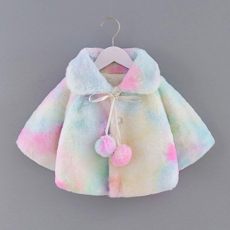 Crianças casaco para meninas colorido jaqueta crianças meninos moda casacos quente com capuz outono inverno bebê meninas roupas infantis